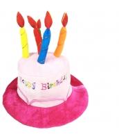 ピエロ 帽子 ピンクお誕生日 qx10127-15