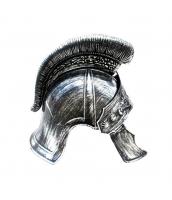 古代ローマ おもちゃ兵器・武器 グラディエーター 銀魔王ヘルメット qx10128-10