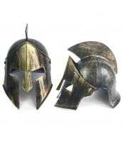 古代ローマ おもちゃ兵器・武器 グラディエーター ゴールデン魔王ヘルメット qx10128-13