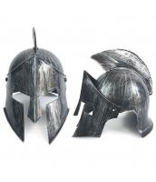 古代ローマ おもちゃ兵器・武器 グラディエーター シルバー魔王ヘルメット qx10128-14