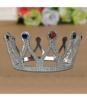 王冠・クラウン・ティアラ 銀水晶 qx10129-10