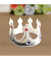 王冠・クラウン・ティアラ シルバー qx10129-8