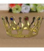王冠・クラウン・ティアラ 金水晶 qx10129-9