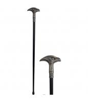 おもちゃ兵器・武器 シルバーイーグル杖 金属 qx10132-8