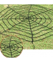 コスプレ小道具 クモの網 黒 4M qx10135-4