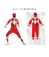 キック・アス コスチューム フードマスク付きジャンプスーツ qx10137-20