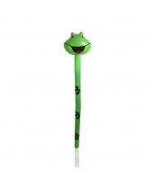 変形風船 動物 棒・杖 カエル 120cm qx10158-3