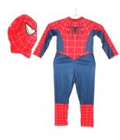 スパイダーマン コスチューム フード付きジャンプスーツ 10-12歳児 qx10161-17