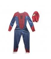 スパイダーマン コスチューム 4-6歳児 ジャンプスーツ+マスク 2点セット qx10161-18