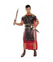 古代ローマ コスチューム グラディエーター ワンピース+PUアウター+ウエストバンド 3点セット qx10163-12