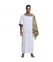 古代ローマ コスチューム 貴族 ヘッドピース+ローブ 2点セット qx10163-5