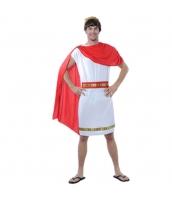 古代ローマ コスチューム ヘッドピース+ウエストバンド+ワンピース+マント 4点セット qx10163-8