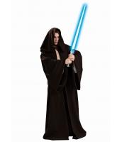 スターウォーズStarWars コスプレ ジェダイ(Jedi)の騎士コスチューム ロング・ローブ フードつき ダース・ベイダー ハロウィン 仮装 衣装 毛足短めベルベット生地stw0001