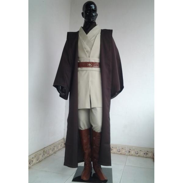 スターウォーズStarWars 銀河系の自由と正義の守護者ジェダイ(Jedi)の騎士 アナキン コートのみ コスチューム・コスプレ ハロウィン 仮装 衣装 Mサイズ stw0004-3