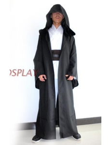 スターウォーズStarWars 黒魔術士 魔道士 ロング・ローブ フードつき コスチューム・コスプレ ハロウィン 仮装 衣装 XXLサイズ stw0005-9