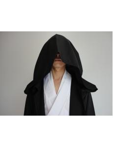 スターウォーズStarWars 黒魔術士 魔道士 ロング・ローブ フードつき コスチューム・コスプレ ハロウィン 仮装 衣装 Lサイズ stw0005-5