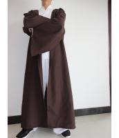 スターウォーズStarWars 黒魔術士 魔道士 ロング・ローブ フードつき コスチューム・コスプレ ハロウィン 仮装 衣装 Mサイズ stw0005-4