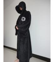 スターウォーズStarWars 銀河系の自由と正義の守護者ジェダイ(Jedi)の騎士ロング・ローブ フードセット 毛足短めベルベット生地 コスチューム・コスプレ ハロウィン 仮装 衣装 Lサイズ stw0006-6