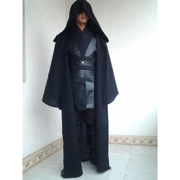スターウォーズStarWars ジェダイ(Jedi)の恐れを知らない英雄 アナキン・スカイウォーカー コートのみ コスチューム・コスプレ ハロウィン 仮装 衣装 Mサイズ stw0009-3