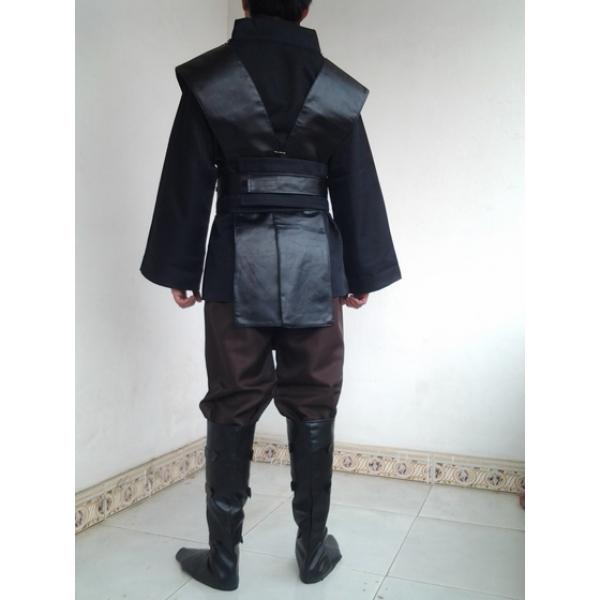 スターウォーズStarWars ジェダイ(Jedi)の恐れを知らない英雄 アナキン・スカイウォーカー フルセットコスチューム・コスプレ ハロウィン 仮装 衣装 Lサイズ stw0009-6