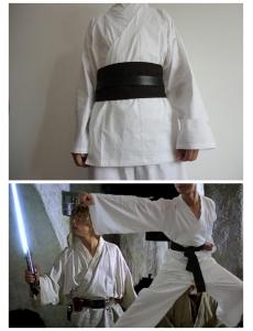 スターウォーズStar Wars コスプレ ジェダイ(Jedi) コスチューム 上下2点セット ハロウィン 仮装 衣装 Mサイズ stw0011-1