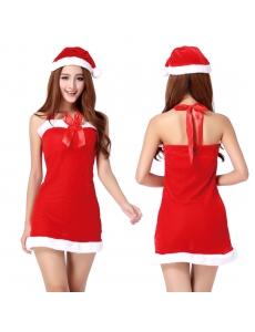 【即納】クリスマスコスプレ レディースサンタクロース コスチューム tk-xm0006-5-f-gz【カラー:画像参照】【サイズ:フリー】
