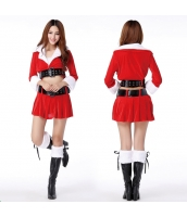 クリスマスコスプレ レディースサンタクロース コスチューム xm1012