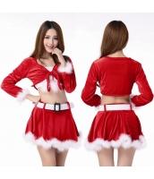 クリスマスコスプレ レディースサンタクロース コスチューム xm1016
