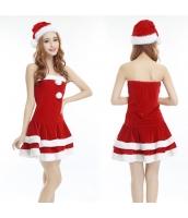 クリスマスコスプレ レディースサンタクロース コスチューム xm1042