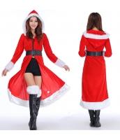 クリスマスコスプレ レディースサンタクロース コスチューム xm1052
