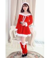 クリスマスコスプレ レディースサンタクロース コスチューム xm1066-4