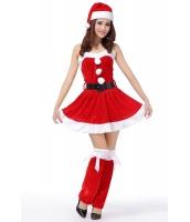 クリスマスコスプレ レディースサンタクロース コスチューム xm1074