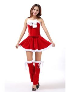 クリスマスコスプレ レディースサンタクロース コスチューム xm1085