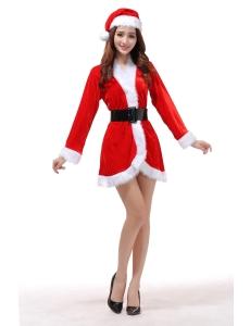 クリスマスコスプレ レディースサンタクロース コスチューム xm1090
