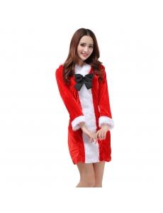 クリスマスコスプレ レディースサンタクロース コスチューム xm1091