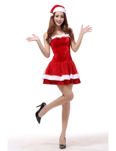 クリスマスコスプレ レディースサンタクロース コスチューム xm1092