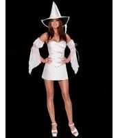 【即納】TK-yy1053-2-フリーサイズ☆◆パーティ衣装・お急ぎ☆  ホワイトウィッチ | コスプレ【カラー:ホワイト】【サイズ:フリー】
