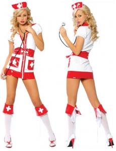 【即納】看護婦 ナース コスチューム コスプレ セクシー下着 tk-yy1225-f-gz【カラー:画像】【サイズ:フリー】