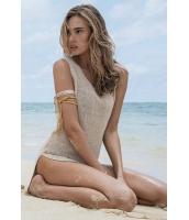 【即納】アプリコット セクシー 夏物 キーホール スリットビーチウェア tkm-yy38210-2-f-gz【カラー:画像参照】【サイズ:フリー】