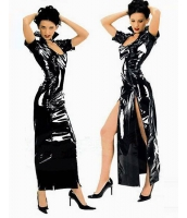 ボンテージドレス SM ボンテージ コスプレ コスチューム レザードレス-yy6021