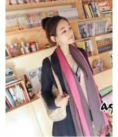 スカーフ マフラー ファッション小物 ダブルカラー-yy9614
